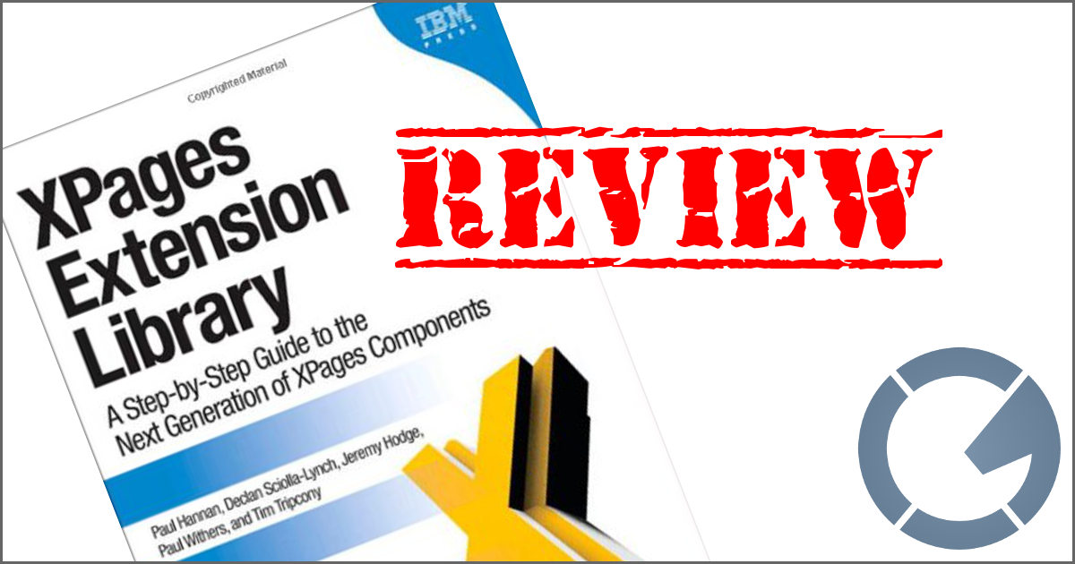 Click here to read XPages Extension Library from IBM Press!